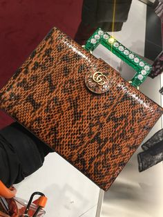 9006c5c4c65 Saw this at the Gucci store today. I didn t get to catch the