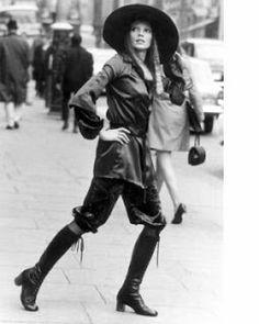 undergroundin & popkultin kengät:: Sukkahousut on jees, Mary Quant