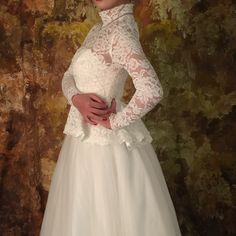 Find More Wedding Jackets / Wrap Information about High Qualitty Real Elegant Ivory Lace Long Sleeve Bridal Boleros 2016 with Peplum Wedding Jackets Coats Wedding Accessories B150,High Quality bolero satin,China bolero pictures Suppliers, Cheap bolero wedding from do dower LaceBridal Store on Aliexpress.com