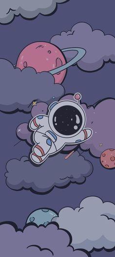 Wallpaper Doodle, Color Wallpaper Iphone, Cute Pastel Wallpaper, Mood Wallpaper, Anime Scenery Wallpaper, Bear Wallpaper, Wallpaper Iphone Disney, Cute Anime Wallpaper, Cute Galaxy Wallpaper