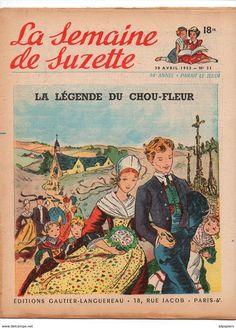 Ill. Edith Follet, La Semaine De Suzette  1953