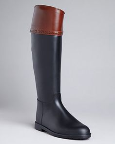 hillmore riding boots- burberry
