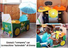 cardboard, kitchen stuff and fantasy! Cardboard Kitchen, Toddler Crafts, Kitchen Stuff, Handmade Toys, Toy Chest, Storage Chest, Fantasy, Fun, Home Decor