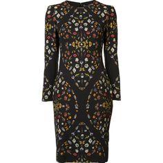 Alexander McQueen 'Obsession' Kleid mit Print
