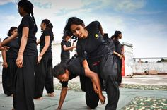 POWER: Young women train in martial arts to confront abusers