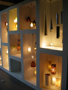 New display at our Southampton showroom. Lighting IS Exciting!