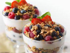 Calatrava Hotel breakfast parfait!