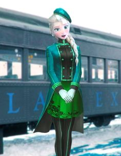 This is Hamlock. She is norwegin and  irish  She is 19, and has grass powers. She  likes to work as a train conductor