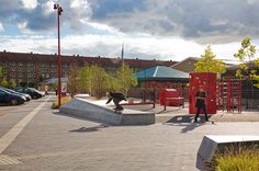 Plaza At Bavnehøj Arena by Opland Landskabsarkitekter « Landscape Architecture Works | Landezine