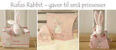 Rufus Rabbit - Nydelige gaver til små prinsesser Paper Shopping Bag, Rabbit, Barn, Decor, Pink, Decoration, Decorating, Rabbits, Dekorasyon