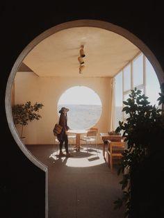 Arcology, Light Art Installation, Star Coffee, Desert Sunset, Phoenix Arizona, Street Art, Fleetwood Mac, Mirror, Architecture