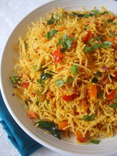 Vegetable Sevai (Vermicelli with vegetables)