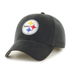 47 Brand Pittsburgh Steelers NFL Basic Hook and Loop Hat 55fb151f7