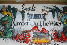Check out http://emigailsroadhouse.com!  Restaurant in Edgerton Serving Authentic Cajun style dishes such as Jambalaya, Etouffee, Gumbo, Crawfish and Alligator Tail. Local Micro Brews & Margaritas!