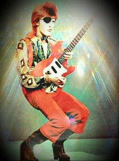 David Bowie as Ziggy. Bowie Ziggy Stardust, David Bowie Ziggy, Glam Rock, Ziggy Played Guitar, Alternative Rock, Indie, Hip Hop, Grunge, The Thin White Duke