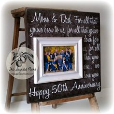 Hey, I found this really awesome Etsy listing at https://www.etsy.com/listing/228009594/parents-anniversary-gift-50th