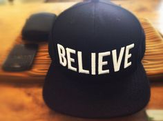 Believe Hat by Black Scale