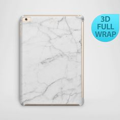 Mother's Day - White Marble Case for iPad 2 3 4 Air 1 Mini by CaseGenie on Etsy