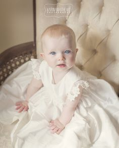 Baby girls Christening. Natural christening photography