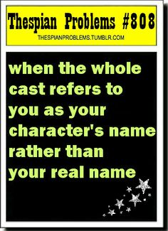 also reminds me of my last show. on closing night people were still unsure of my name. oh well...