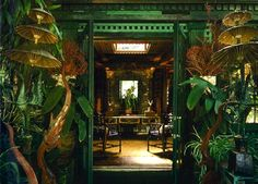[New] The 10 Best Home Decor (with Pictures) - I really dont know how I havent been to tour this house. This man has my heart! Inside the legendary Beverly Hills estate of the eclectic Tony Duquette Architecture Restaurant, Interior Architecture, Opium Den, Thai House, Beverly Hills Houses, Green Rooms, Interior Exterior, Bohemian Decor, My Dream Home