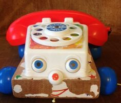 1960's Fisher Price Telephone