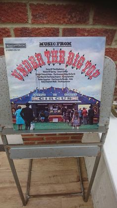 Music from Under The Big Top vinyl LP All the music from the circus 1972 Rediffusion Barnum Bailey Ringling Brothers Billy Smart by bastarduk on Etsy Ringling Brothers, Big Top, Close Your Eyes, Lp, Folk Art, Elephant, Horses, History, Music