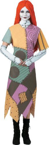Disguise Women's Tim Burton's The Nightmare Before Christmas Plus Size Sally Plus Size Disney Costumes 2015 - Women's Costume Characters