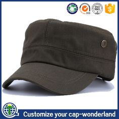 aafe98ff1c3 Flat top bancroft officer wholesale types of hats indian army cap