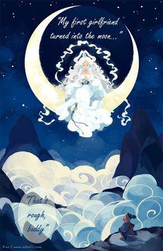 Avatar: The Last Airbender, Sokka and Yue