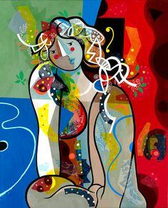 Yoël Benharrouche, La pudeur de tes gestes (Lacquer), 2015, Eden Fine Art
