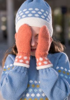 Garnpakke: Alettegenser i Faerytale (dame) - Knitting Inna Knit Mittens, Knitted Hats, Winter Hats, Knitting Ideas, Fashion, Threading, Projects, Moda, La Mode