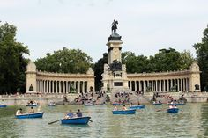 Estanque del Retiro #puisto #madrid #espanja #spain
