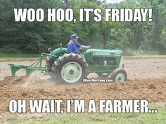 Who else can relate? #FarmerFriday #OliverHeritage