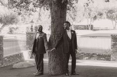 First look at a gay wedding at Epona Estate in Hidden Valley, CA.