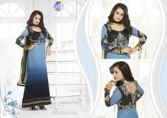 Semi Stitched Anarkali Dresses for any occasion... #partywear #indianwear #bridalwear #fashion #women'sclothing #style #fashionista #traditional #saris #lehengacholi #anarkali #salwarkameez #salwarsuit  To order please call us om 9920035756 or email us at bespoke57@gmail.com