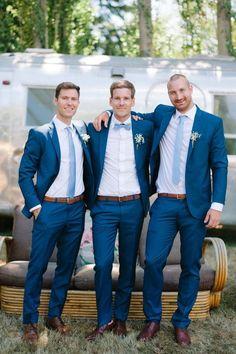 Elegant navy blue and dusty blue wedding color, wedding attire,spring weddings, outdoor weddings