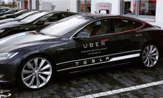 Tesla y Uber se alían en Madrid