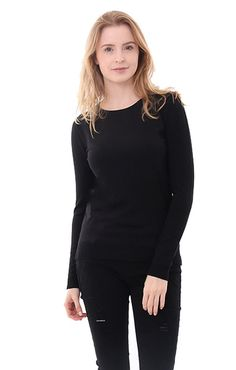 Fall 2016 Clothing trends 525 America Sweaters Crew Neck Sweater in Black