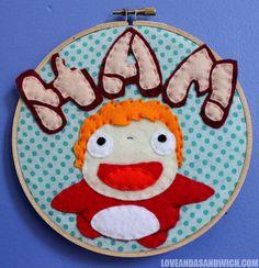 Ponyo wants HAM! - haaaaaam! ;-)