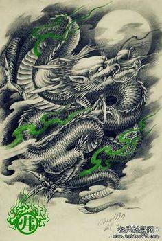Resultado de imagem para dragoes tattoos
