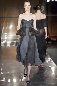 J. Mendel Fall 2008 Ready-to-Wear Fashion Show - Elsa Sylvan
