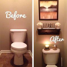 20 baños cambian de imagen ¡quedaron fabulosos! 20 baños pequeños con madera y piedra (¡te van a encantar!) Decoración de baños con jardines artificiales Espectaculares lavamanos de cristal para renovar #Decoracionbaños #decoraciondebaños