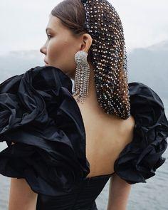 Fotos Do Instagram, Taffeta Dress, Hair Nets, Ruffle Sleeve, Foto E Video, Night Out, Sequin Skirt, Women Wear, Feminine