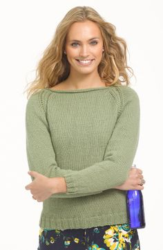 My First Raglan Pullover