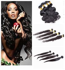 "8""-30"" Remy Straight Curly Wave Virgin Brazilian Human Hair Weave Extensions $8.99 to $32.99"