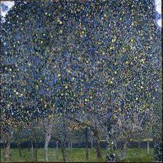 The Pear Tree oil painting by Gustav Klimt Gustav Klimt, Klimt Art, Henri De Toulouse Lautrec, Franz Josef I, Vienna Secession, Art For Art Sake, Art Graphique, Art Plastique, Famous Artists