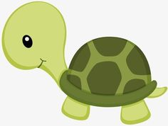 Little Green Turtle png y clipart Jungle Animals, Baby Animals, Cute Animals, Jungle Party, Jungle Theme, Green Turtle, Cute Drawings, Baby Quilts, Cute Pictures