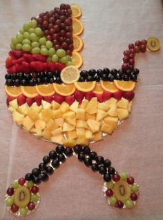 Baby carriage fruit Distinctive Creations | Flickr - Photo Sharing!