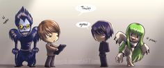 Code Geass and Death Note crossover XD